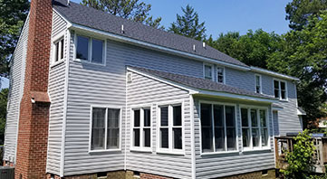 home with new siding installed by T&G Enterprise home improvement contractor